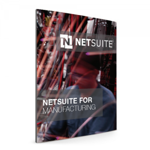 NetSuite for Manufacturing eBook