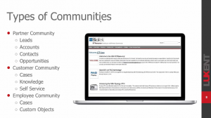 salesforce community types