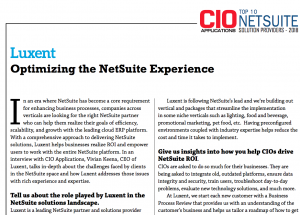 cio applications interview netsuite erp