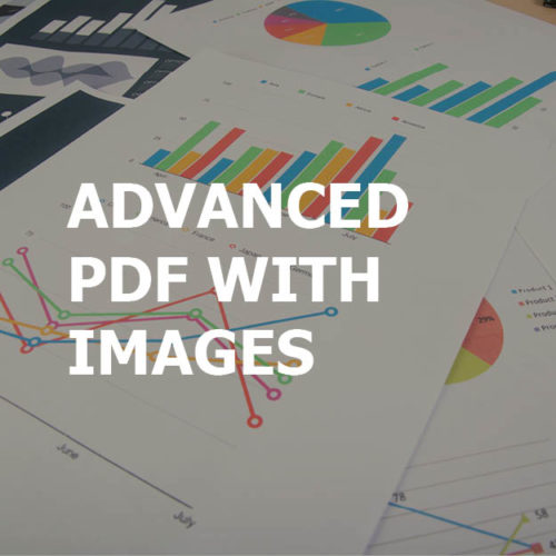 Advanced PDF with Images