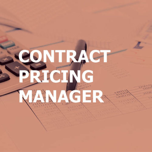 Contract Pricing Manager